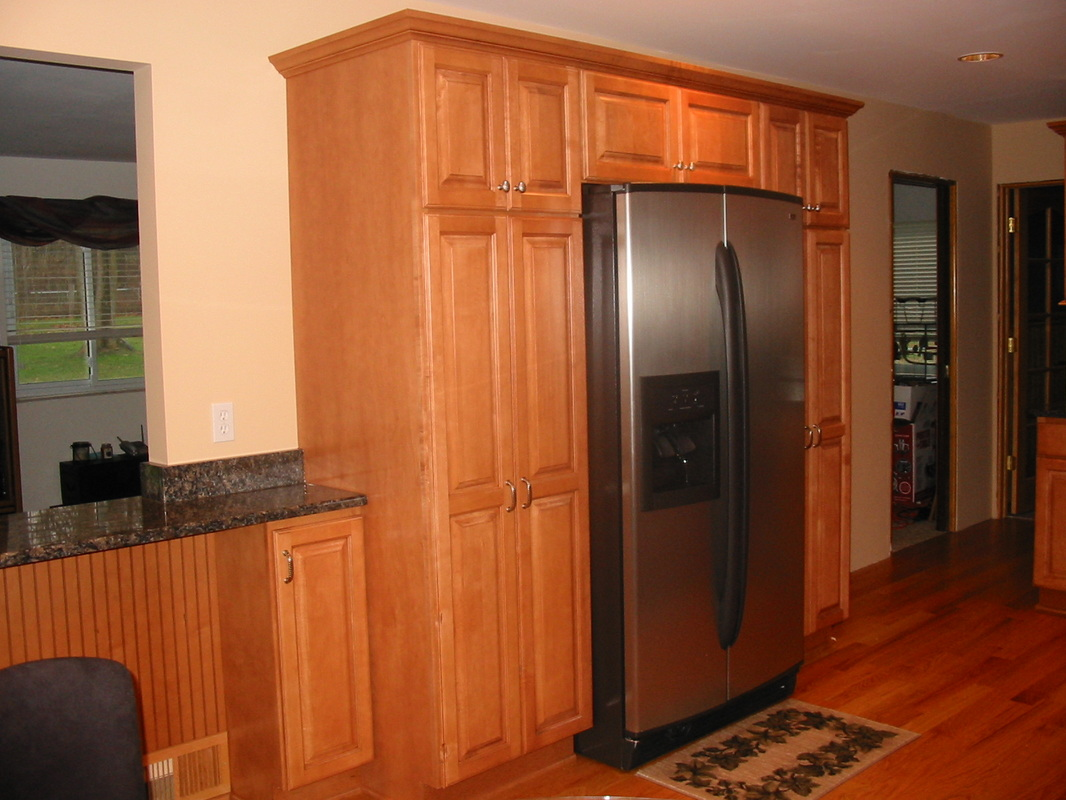 rustic maple kitchen cabinets submited images